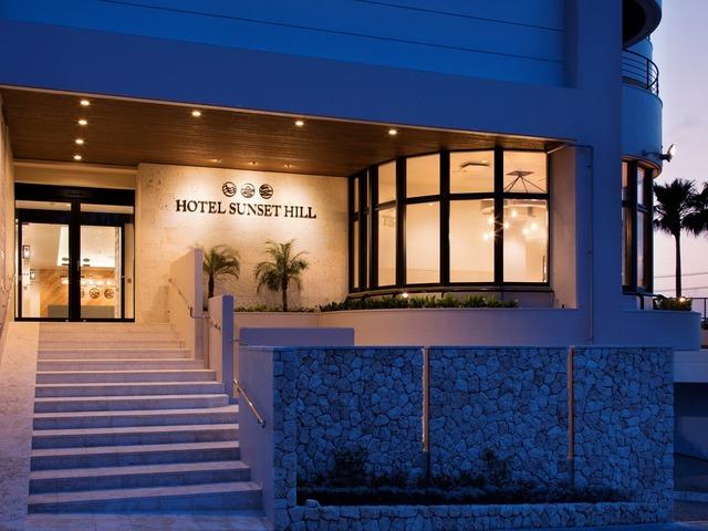 ホテルサンセットヒル ホテルエントランス